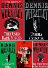 Dennis Wheatley Black Magic Collection 5 Books: They Used Dark Forces, Unholy Crusade, The White Witch of the South Seas, Gateway to Hell, The Irish Witch.