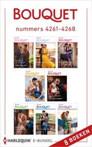 Bouquet e-bundel nummers 4261 - 4268 Boekomslag