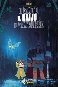 Il gatto, il kaiju e il cavaliere Copertina del libro