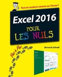 Excel 2016 Pas à pas pour les Nuls - Bernard Jolivalt