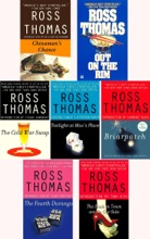 Ross Thomas Collection 7 books: Chinaman's Chance, Out on the Rim, The Cold War Swap, Twilight at Mac's Place, Briarpatch, The Fools in Town Are on Our Side, The Fourth Durango.