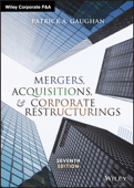 Mergers, Acquisitions, and Corporate Restructurings Book Cover