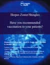 Herpes ZosterShingles - Have You Recommended Vaccination To Your Patients