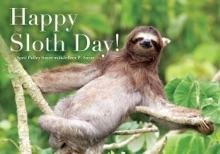 Happy Sloth Day!