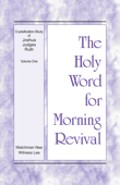 Download The Holy Word for Morning Revival - Crystallization-study of Joshua, Judges, Ruth, Volume 1 ePub | pdf books