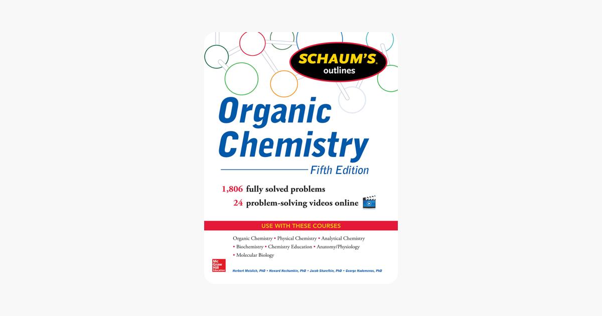 Schaums Outline of Organic Chemistry 5/E (ENHANCED EBOOK)