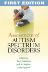 Assessment Of Autism Spectrum Disorders First Edition