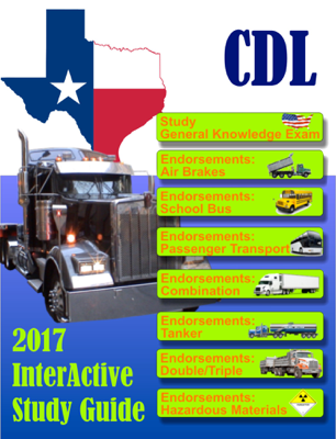 CDL Texas Commercial Drivers License - William Chester book