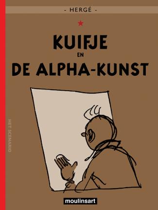 Kuifje en de alfa.kunst - Hergé