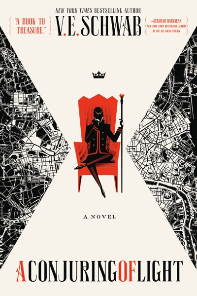 A Conjuring of Light - V. E. Schwab book cover