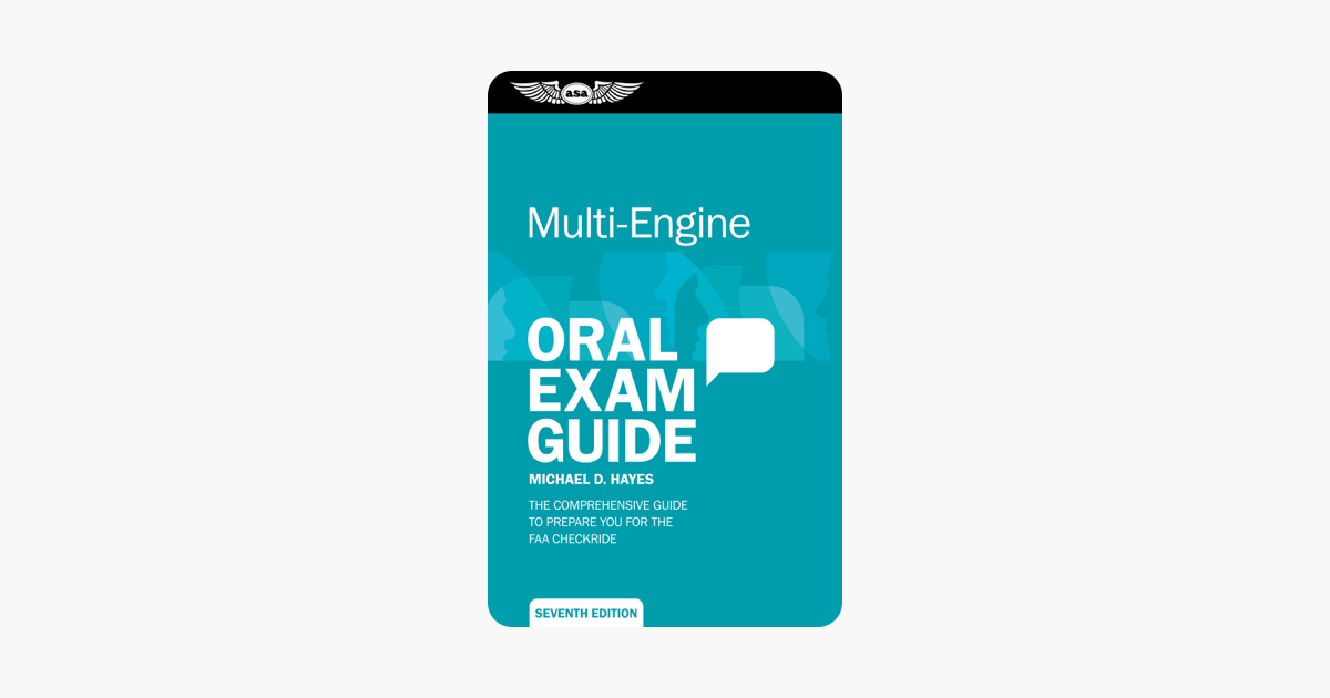 Multi-Engine Oral Exam Guide - Michael D. Hayes