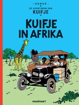 Kuifje in Congo/Afrika - Hergé