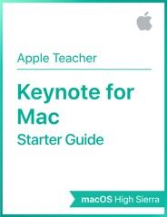Keynote for macOS High Sierra Starter Guide