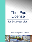 The iPad License for 9-12 year olds.