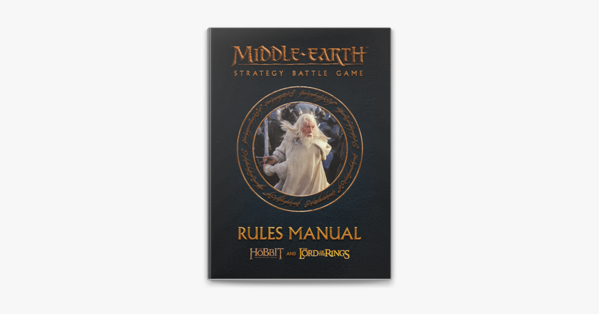 Lord of the Rings Middle-Earth Strategy Battle Game Rules Manual