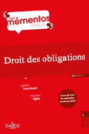 Droit civil. Les obligations