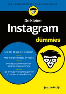 De kleine Instagram voor dummies Boekomslag