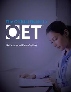 Official Guide to OET La couverture du livre martien