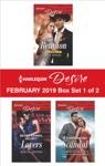Harlequin Desire February 2019 - Box Set 1 Of 2