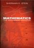 Mathematics: The Man-Made Universe - Sherman K. Stein