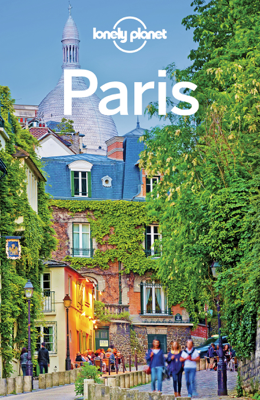 Paris Travel Guide - Lonely Planet book