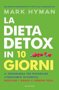 La dieta detox in 10 giorni Copertina del libro