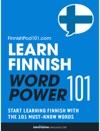 Learn Finnish - Word Power 101