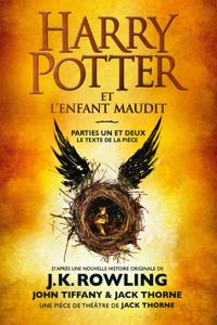 Harry Potter et l'Enfant Maudit - Parties Un et Deux La couverture du livre martien