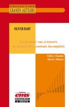 Oliver Hart - La Finance Vue à Travers La Théorie Des Contrats Incomplets