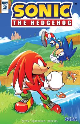 Sonic the Hedgehog #3 - Ian Flynn & Jen Hernandez book