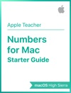 Numbers For Mac Starter Guide MacOS High Sierra