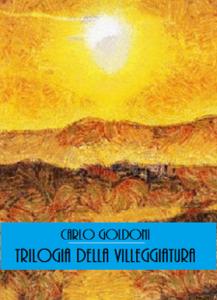 Trilogia della villeggiatura Copertina del libro