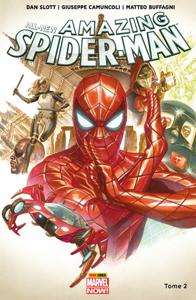 All-New Amazing Spider-Man (2015) T02 La couverture du livre martien