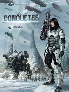 Conquêtes T01 La couverture du livre martien