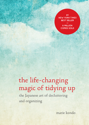 The Life-Changing Magic of Tidying Up - Marie Kondo book