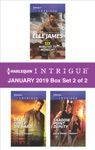Harlequin Intrigue January 2019 - Box Set 2 Of 2