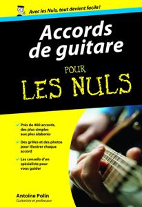 Accords de guitare Pour les Nuls by Antoine Polin