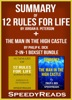 Summary of 12 Rules for Life: An Antidote to Chaos by Jordan B. Peterson + Summary of The Man in the High Castle by Philip K. Dick 2-in-1 Boxset Bundle