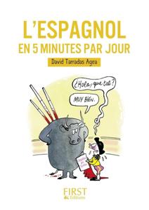 L'espagnol en 5 minutes par jour La couverture du livre martien