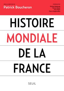 Histoire mondiale de la France La couverture du livre martien