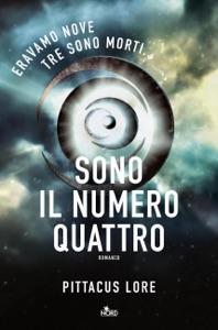 Sono Il Numero Quattro Book Cover
