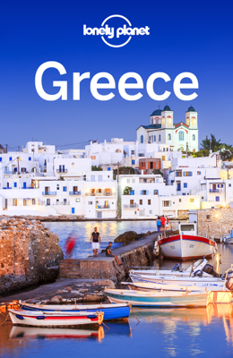 Greece Travel Guide - Lonely Planet book
