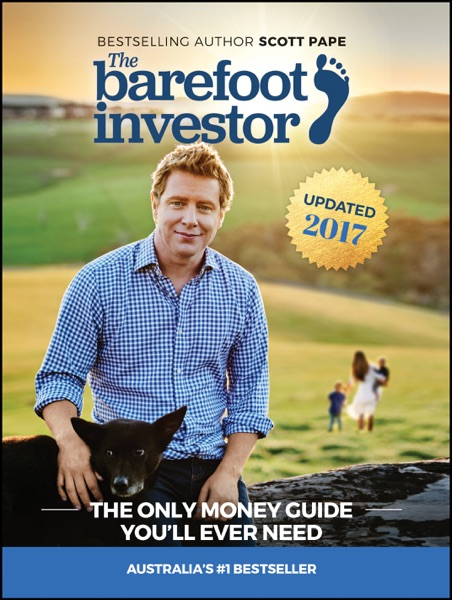 The Barefoot Investor - Scott Pape book cover