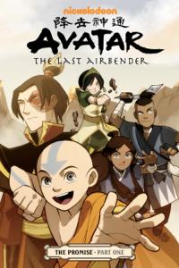 Avatar: The Last Airbender - The Promise Part 1 Boekomslag