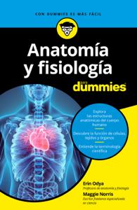 Anatomía y fisiología para Dummies Book Cover