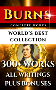 Robert Burns Complete Works – World's Best Collection Cover Book
