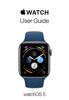 Apple Inc. - Apple Watch User Guide Grafik