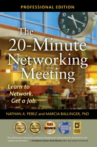The 20-Minute Networking Meeting - Professional Edition Boekomslag