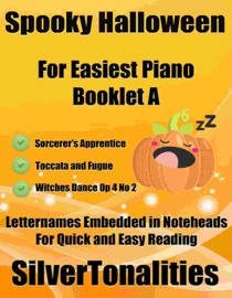 SPOOKY HALLOWEEN FOR EASIEST PIANO BOOKLET A
