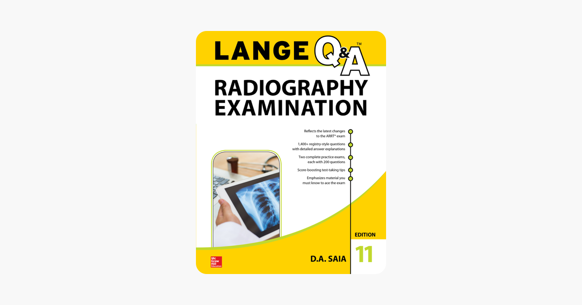 ‎LANGE Q&A Radiography Examination, 11th Edition